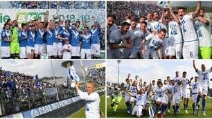 Gioia immensa a Brescia: Serie A e Coppa al cielo