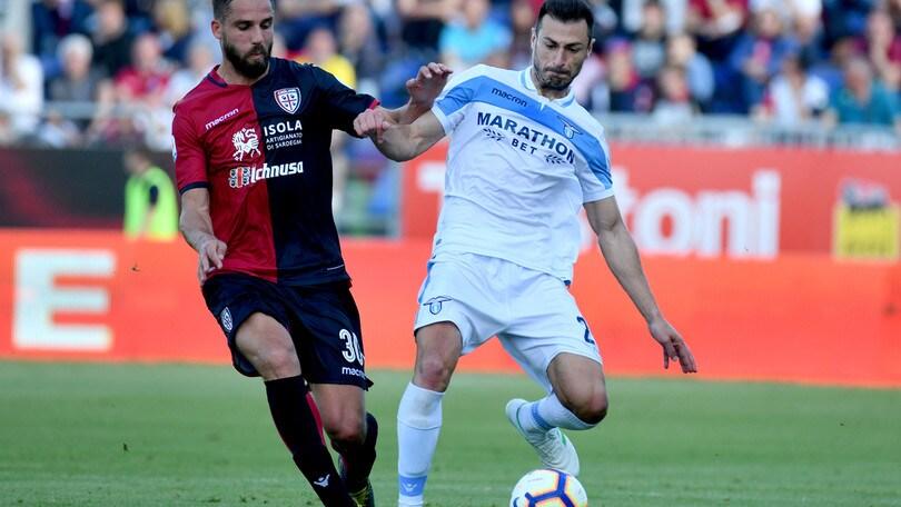 Serie A Cagliari-Lazio 1-2, il tabellino