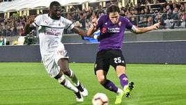Serie A Fiorentina-Milan 0-1, il tabellino