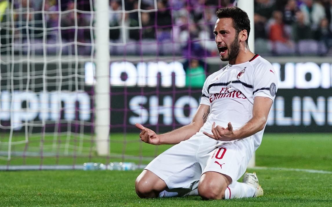 Il centrocampista turco decide l'incontro con la rete siglata al 35', Gattuso resta al quinto posto a -3 dall'Atalanta e, per almeno 48 ore, -1 dall'Inter