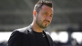 Serie A Sassuolo, De Zerbi: «L'arbitraggio non mi è piaciuto»