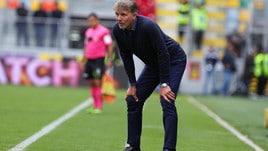Serie A Frosinone, Baroni: «L'1-3 è pesante, ma abbiamo creato molto»