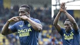 Udinese straripante, Okaka ne fa due!
