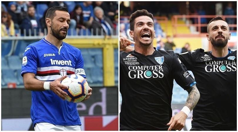Alla Sampdoria non basta il solito Quagliarella