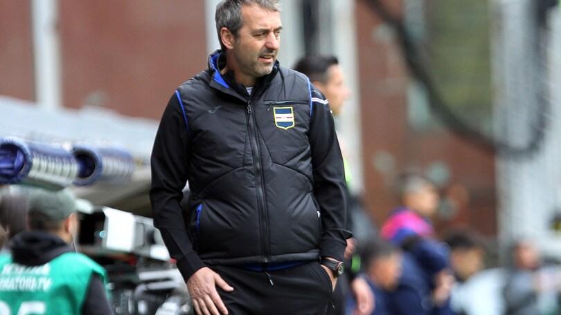 Serie A Sampdoria, Giampaolo: «Ci serve più ambizione»