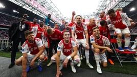 Eredivisie: 34° scudetto per l'Ajax, alla Johan Cruijff Arena scatta la festa
