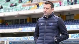 Serie A Parma, D'Aversa: «Derby fondamentale, vogliamo la salvezza»