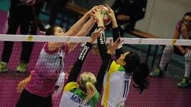 Volley: A2 Femminile, Gara 1 della Finale è di Caserta, travolta Orvieto