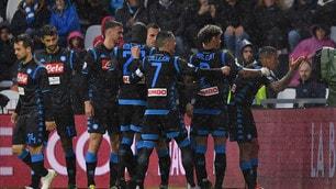 Mario Rui e Allan, festa Napoli contro la Spal