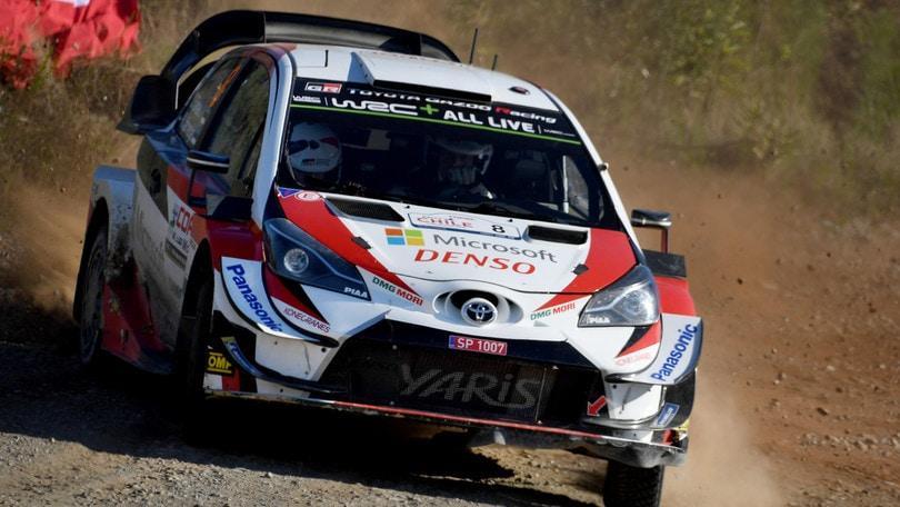 Rally Cile, Tanak vince la tappa e risale nel mondiale