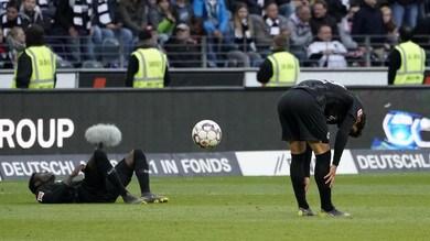 Bundesliga, Eintracht ko anche con il Mainz: Champions più lontana
