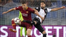 Roma-Juventus 2-0: decidono Florenzi e Dzeko