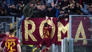 Roma-Juventus 2-0: Florenzi-gol fa festa con la Curva Sud