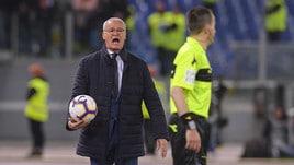 Ranieri: «Io a Roma in un altro ruolo? No, voglio allenare»