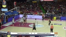 Umana Reyer Venezia - Germani Basket Brescia 86-70