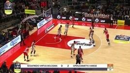 Segafredo Virtus Bologna - Openjobmetis Varese 84-72