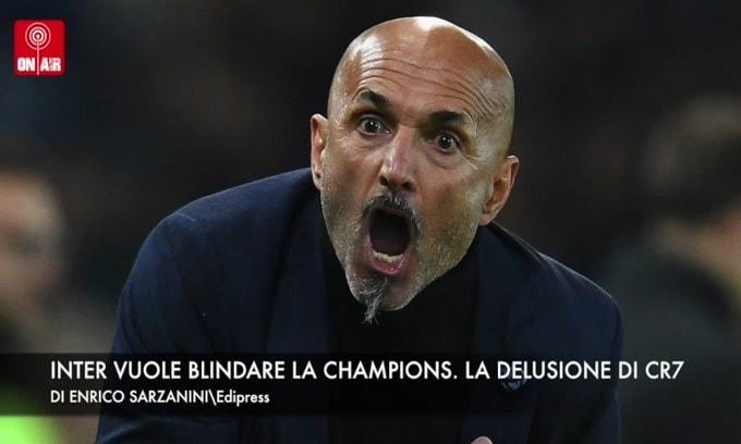 L'Inter vuole blindare la Champions. Ronaldo deluso per la sconfitta