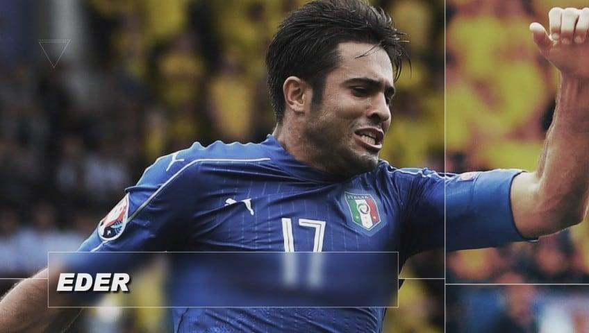 Italiani all'estero, Eder segna contro il Ghuanzou allenato da Cannavaro