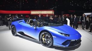 Lamborghini Huracan Performante Spyder: le foto