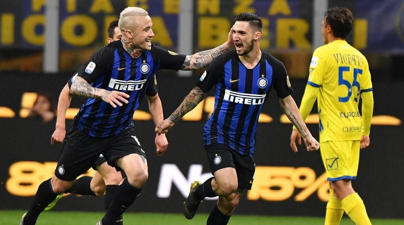 Serie A, Inter-Chievo 2-0: decidono Politano e Perisic, Champions più vicina