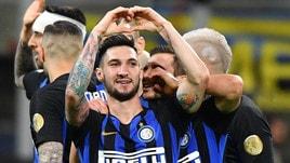 On Air: L'Inter torna terza. Tennis, avanti Fognini e Cecchinato