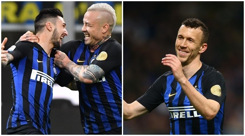 Politano e Perisic rilanciano l'Inter al terzo posto