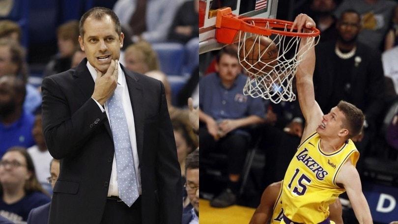 NBA, Frank Vogel è il nuovo allenatore dei Los Angeles Lakers
