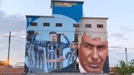 Coppa Italia, c'è anche il murales dedicato all'Atalanta