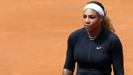 Tennis, Internazionali: Serena Williams si ritira, salta il derby con Venus
