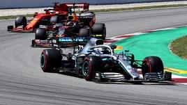 F1, test Spagna: Bottas il più veloce, Leclerc subito dietro