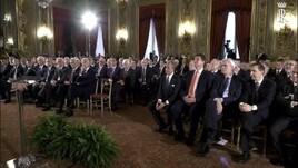 Mattarella si augura: