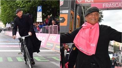 Giro d'Italia, che sorpresa: Don Matteo taglia il traguardo!