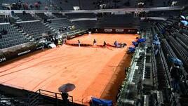 Internazionali d'Italia: Albot sfiderà Fognini, rinviata per pioggia la partita di Cecchinato
