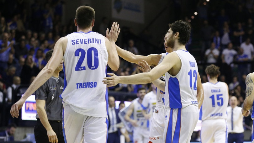 Basket, Serie A2 play-off: Rieti ko con Treviso, perdono Verona e Montegranaro