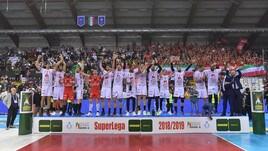 Volley: Superlega, incredibile finale, la Lube conquista il suo quinto scudetto