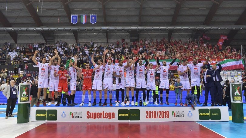 Volley: Superlega, incredibile finale, la Lube conquista il suo quinto scudetto