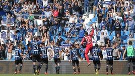 Serie A, quarto posto: l'Atalanta vola, rimonta Milan a 3,50