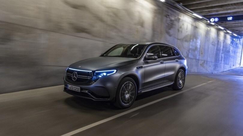 Nuova Mercedes EQC: il suv elettrico firmato