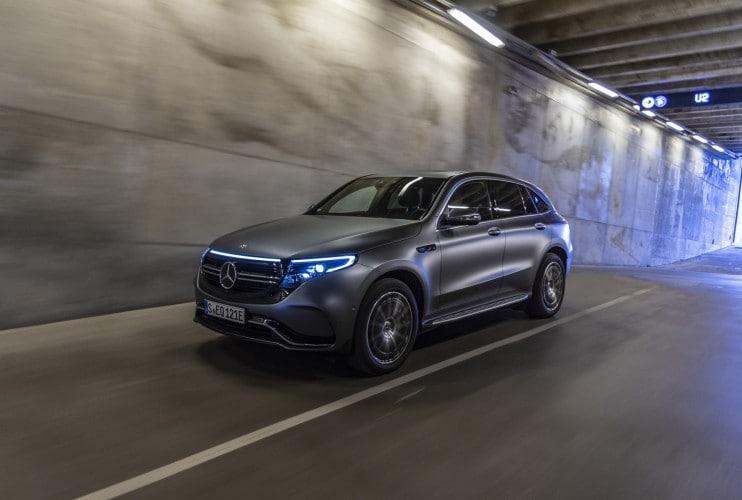 Nuova Mercedes EQC: tutte le immagini