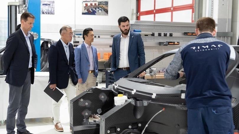 Hyundai e Rimac insieme per lo sviluppo di una supersportiva elettrica