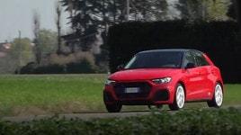 Nuova Audi A1 Sportback 30TSI S Line: il test VIDEO