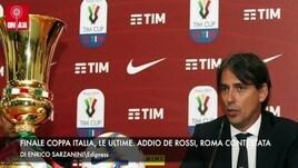 Finale Coppa Italia, le ultime. De Rossi, Roma contestata