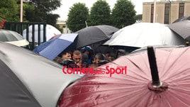 Contestazione a Trigoria: De Rossi, Ranieri e Massara a confronto con i tifosi