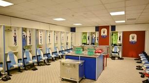 Coppa Italia, spogliatoio Lazio: è tutto pronto per la finale