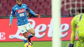 Serie A Napoli, per Insigne ancora lavoro differenziato