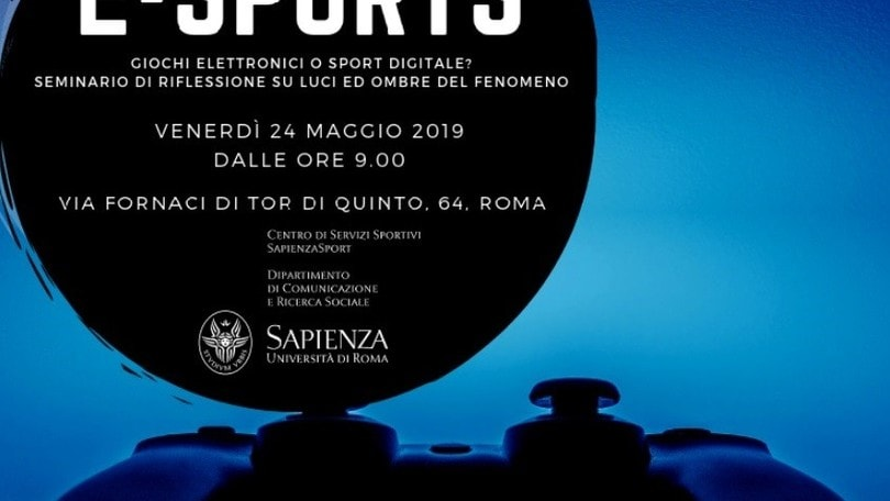 Alla Sapienza di Roma l'incontro tra Esport e Università