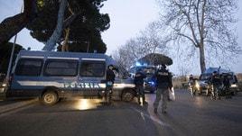 Coppa Italia, tensione all'Olimpico tra ultrà Lazio e Polizia