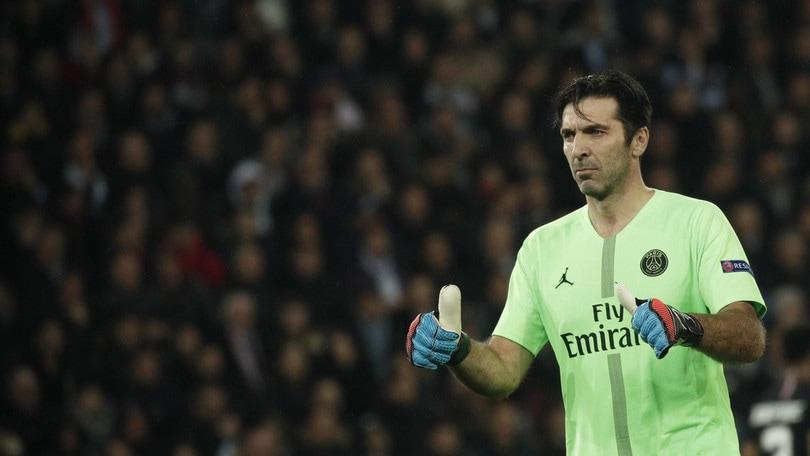 Buffon: «A Parigi sto bene. Rinnovo? Mi incontrerò col PSG»