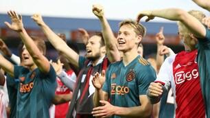 """Ajax campione d'Olanda: la pazza gioia dei """"ragazzi terribili"""""""