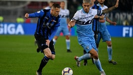Coppa Italia Atalanta-Lazio 0-2, il tabellino